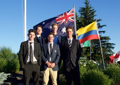 Australian Team, 2016