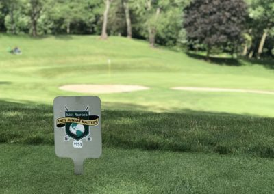 17th Tee Marker
